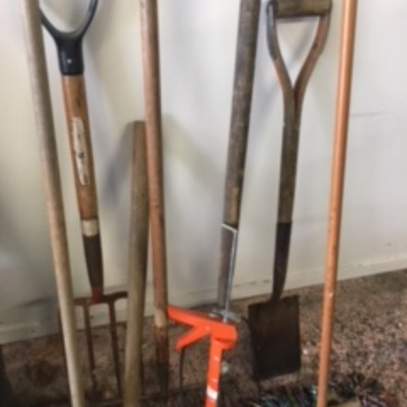 Assorted Garden Tools Freestuff