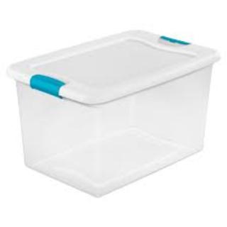 WANTED- CLEAN 60L TO 80L PLASTIC STORAGE BINS