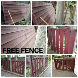 Good quality fencing with gate