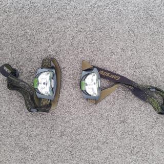 Energizer head torch (2x)