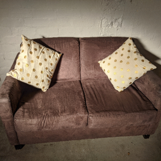 Small Brown Couch