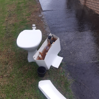 Toilet (S-pan)