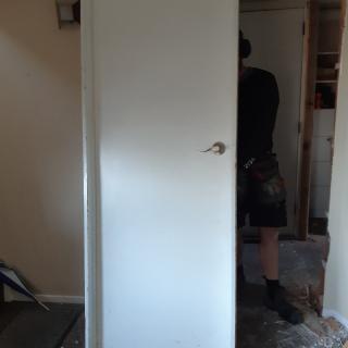 Prehung internal doors