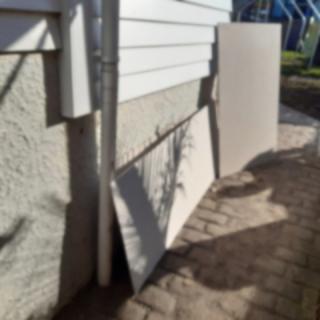 Fibre cement offcuts