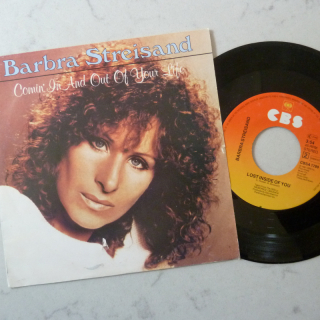 Barbrra Streisand single- Coming in and out of Your Life