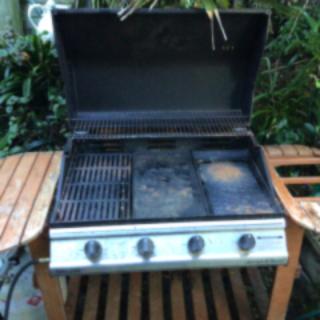 Masport 6 burner Hooded BBQ