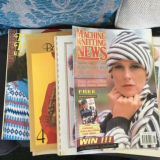 Machine knitting books