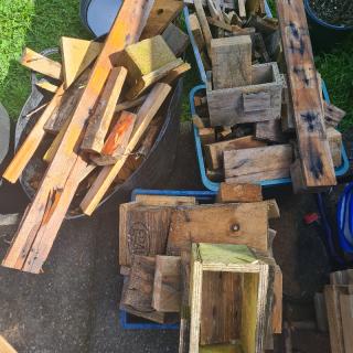Treated firewood