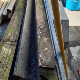 4x1 rough sawn