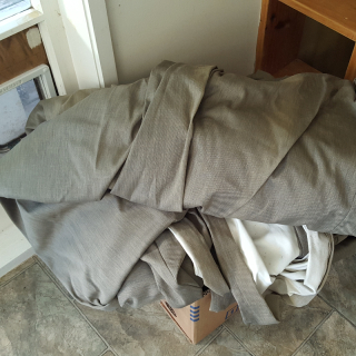 Free heavy curtains